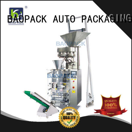 BAOPACK pillow vertical form fill and seal packaging machines design for industry