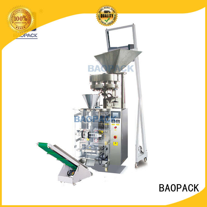 dust vffs machine bags for industry BAOPACK