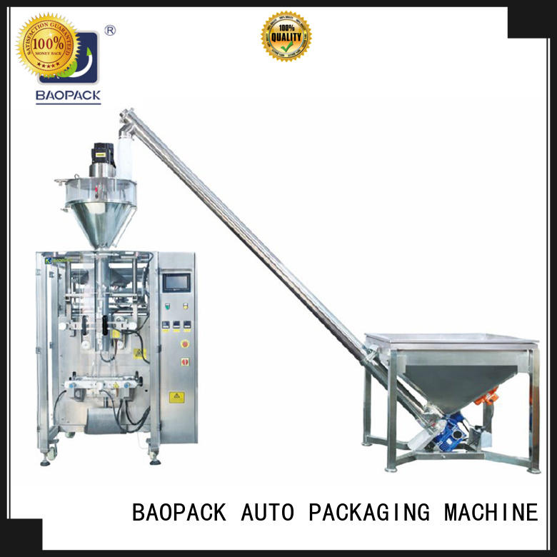 BAOPACK cbvp52 automatic form fill seal machines directly sale for industry