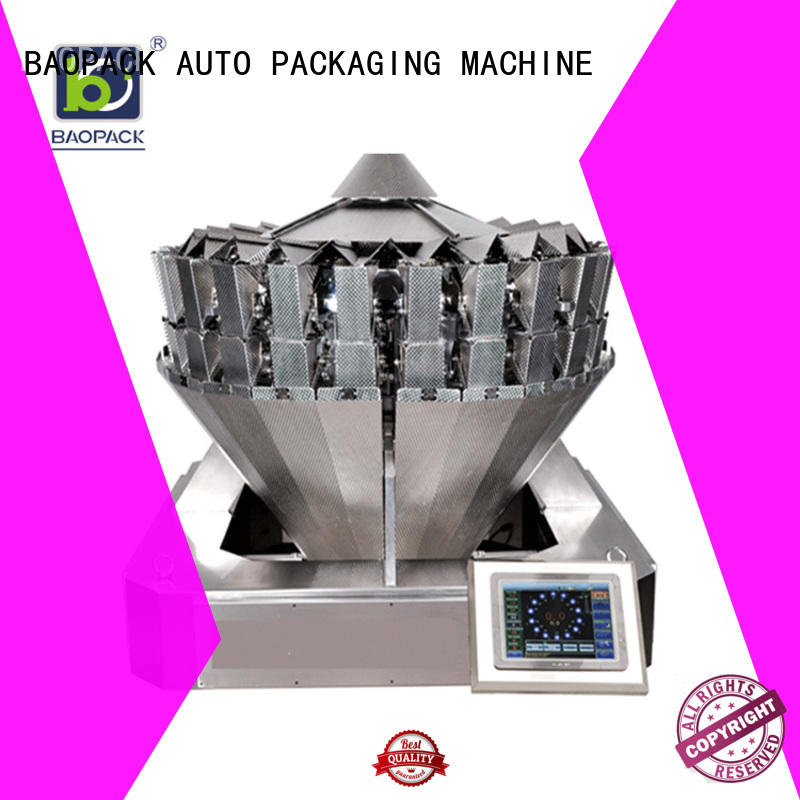 Hot tea multihead weigher packing machine pouch sealed BAOPACK Brand