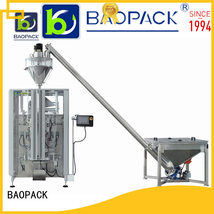 BAOPACK chilli vertical form fill and seal manufacturer for plant