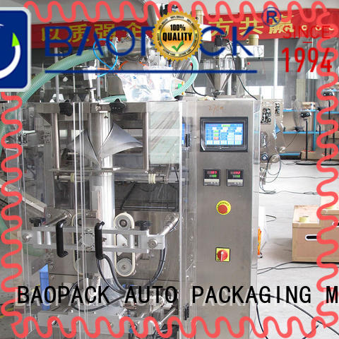 BAOPACK pillow liquid filling and sealing machine supplier for plant