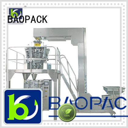 BAOPACK vertical weigher packing machine personalized for chocolate