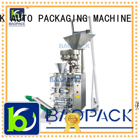 BAOPACK small vertical form fill seal packaging machines with good price for commercial