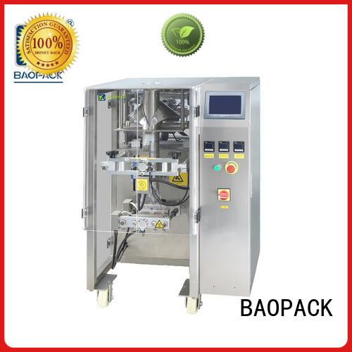speed Custom dry puffed packing machine BAOPACK bag