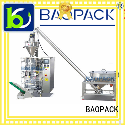 automatic form fill seal machines 4side BAOPACK