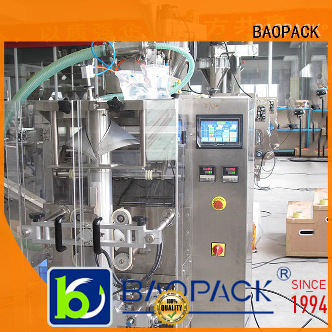 BAOPACK motor vffs bagging machine supplier for plant