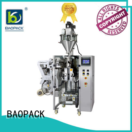 BAOPACK milk powder filling machine from China for commercial
