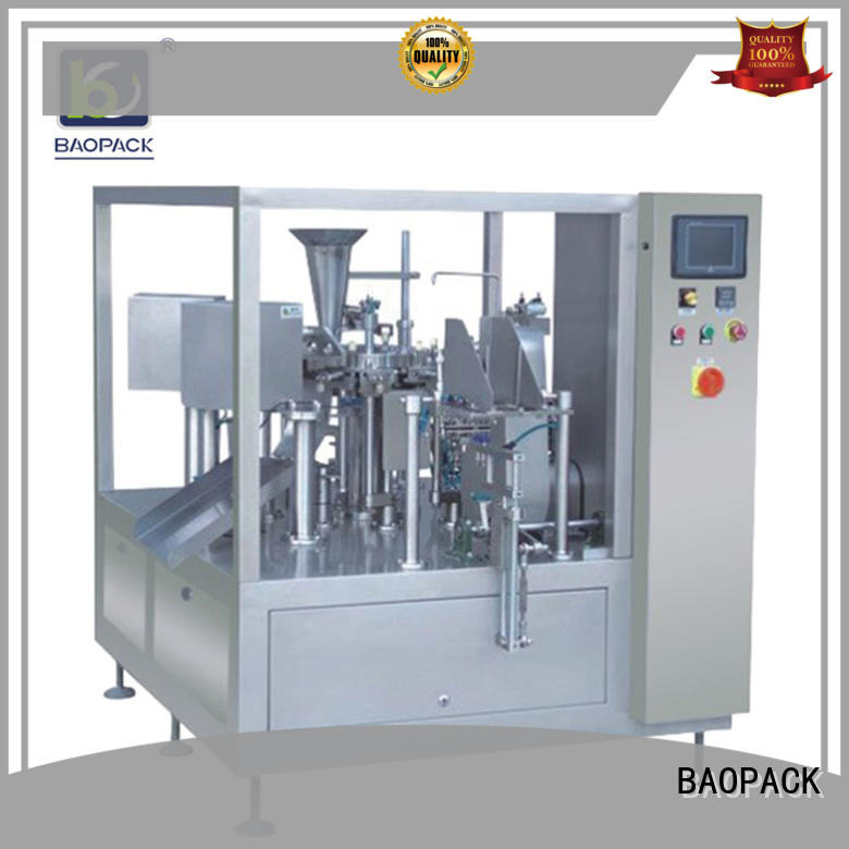 vertical packaging machine sachet factory price for commercial