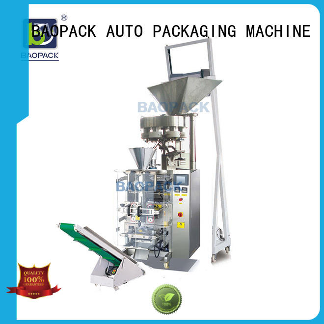 biscuits dust volumetric filling machine special BAOPACK company