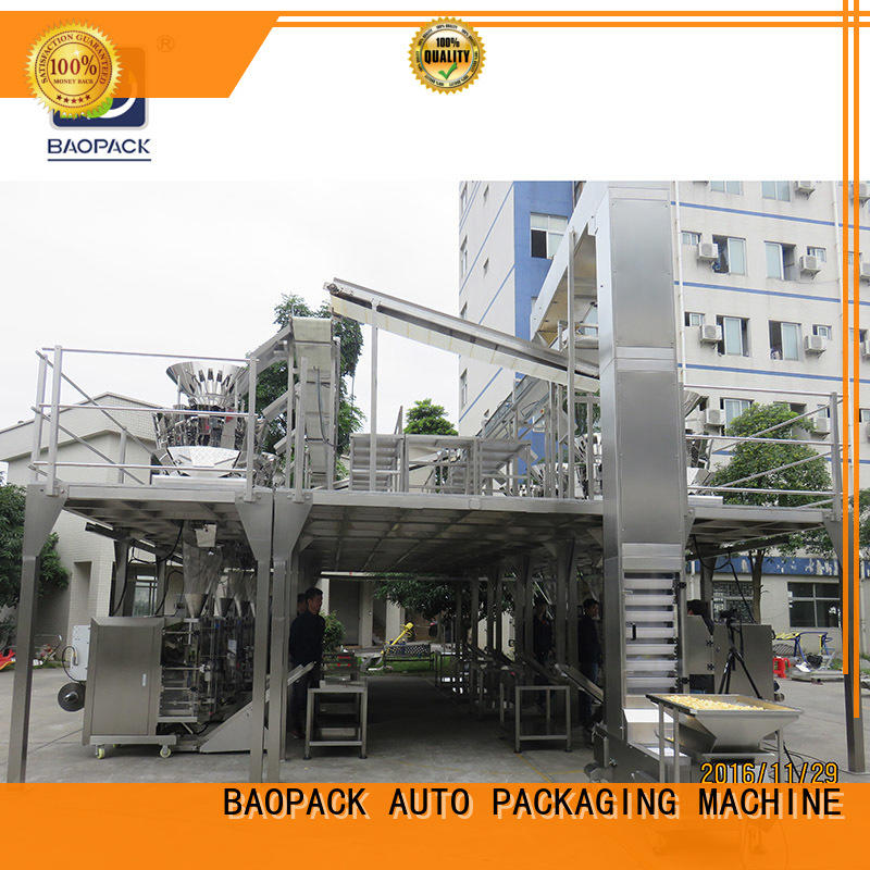 BAOPACK Brand valve mini automatic weighing and packing machine seal supplier