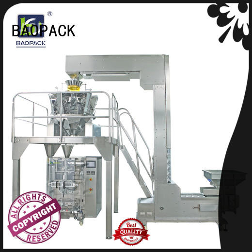flushing vffs packaging machine food for industry BAOPACK