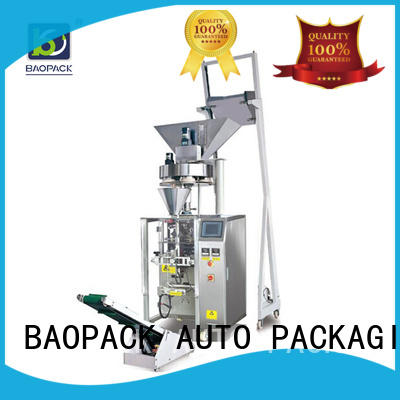 BAOPACK multifunction vertical form fill seal packaging machines factory for industry