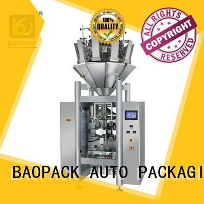 BAOPACK nitrogen vffs packing machine personalized for plant