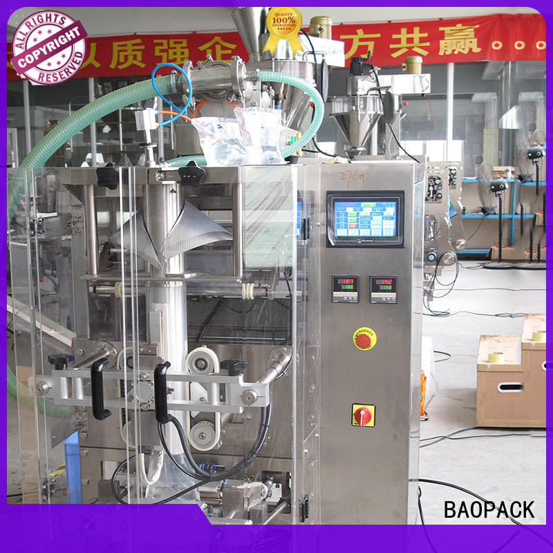BAOPACK pillow liquid filling and sealing machine wholesale for industry