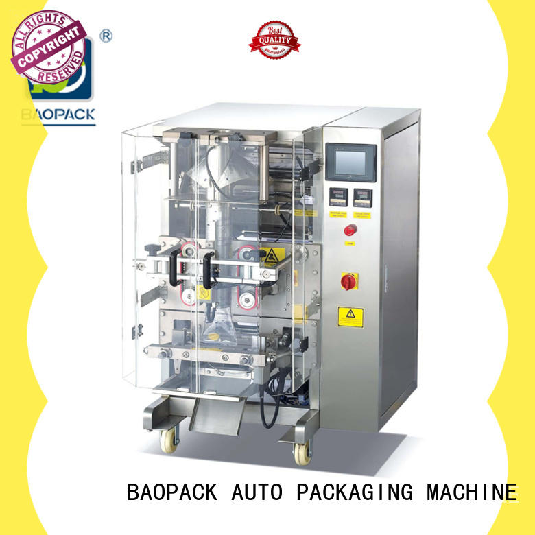 pouch packing machine nuts BAOPACK