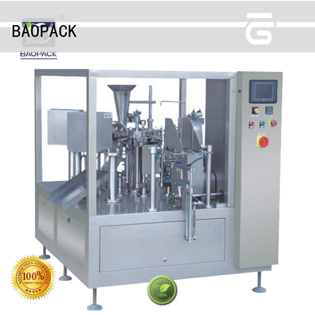 BAOPACK bags auto packaging machine factory price for industry