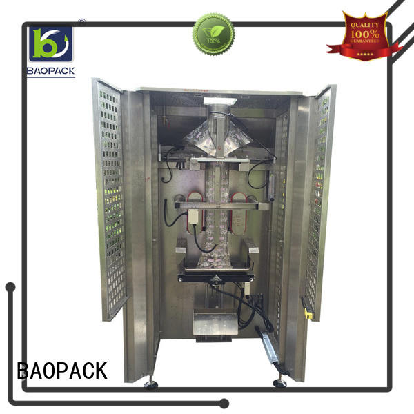 BAOPACK bags automatic pouch packing machine factory price for industry