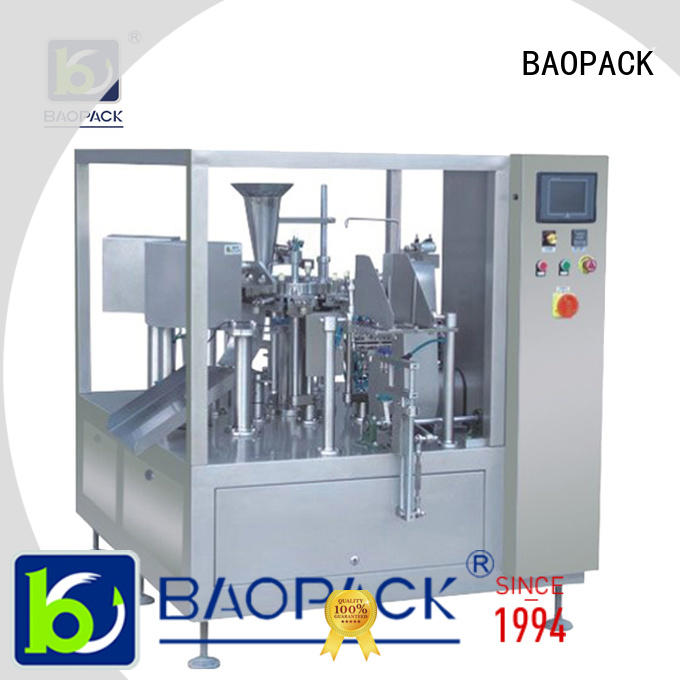 BAOPACK vertical pouch packing machine wholesale for industry