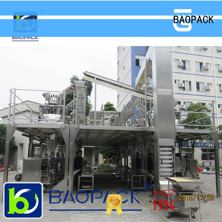 BAOPACK valve vffs packaging machine personalized for industry