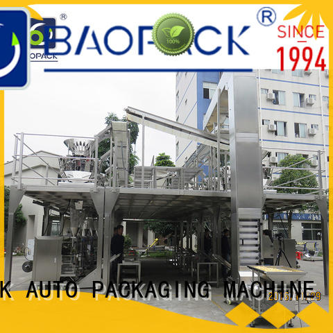 BAOPACK vertical weigher packing machine supplier for plant