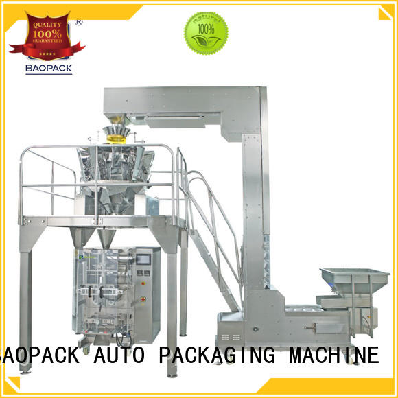 sealed degas mini maize BAOPACK Brand multihead weigher packing machine supplier