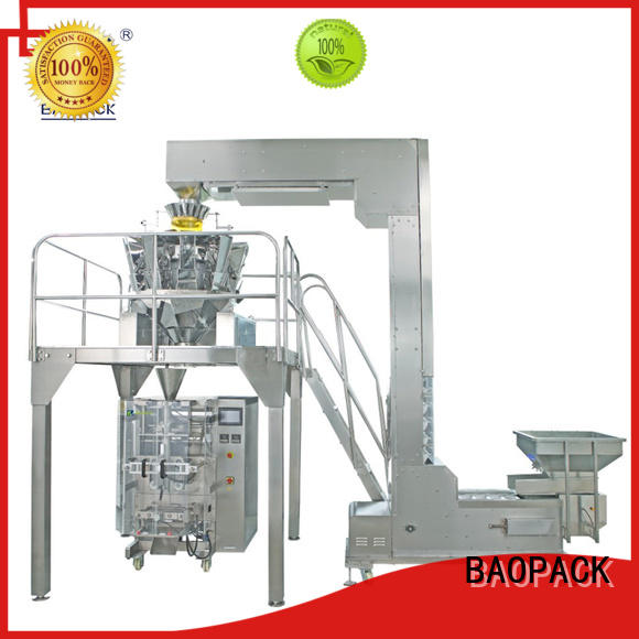 BAOPACK 4side weigher packing machine personalized for chocolate
