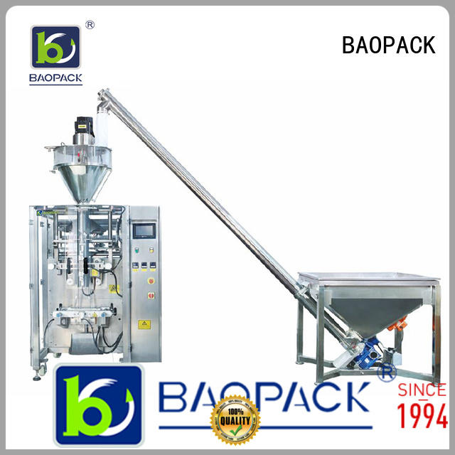 Custom grain cups powder packing machine BAOPACK rice