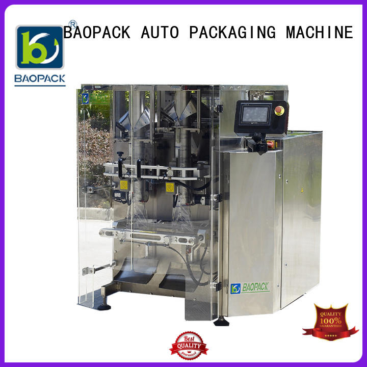 BAOPACK Brand doy candies packing machine puffed factory