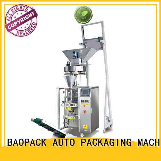 proof vertical sealing machine design for plant BAOPACK