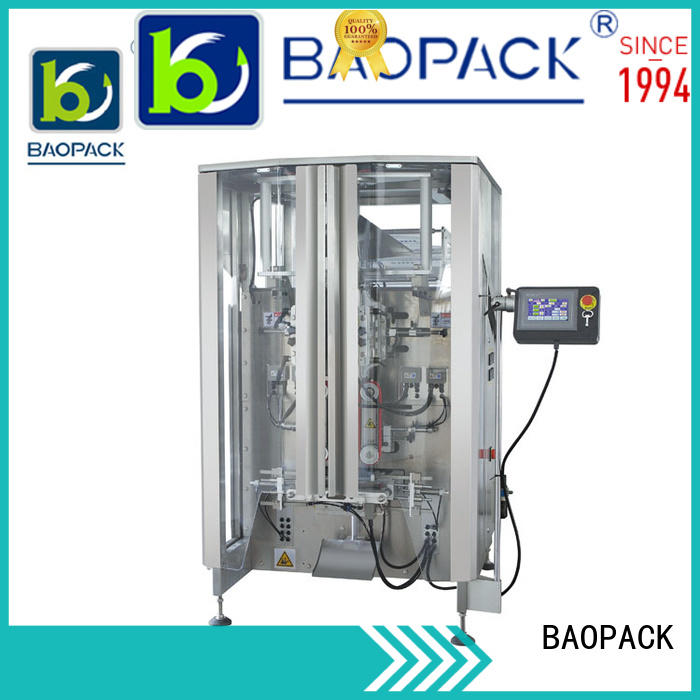 BAOPACK multifunction pillow bag packaging machine design for plant