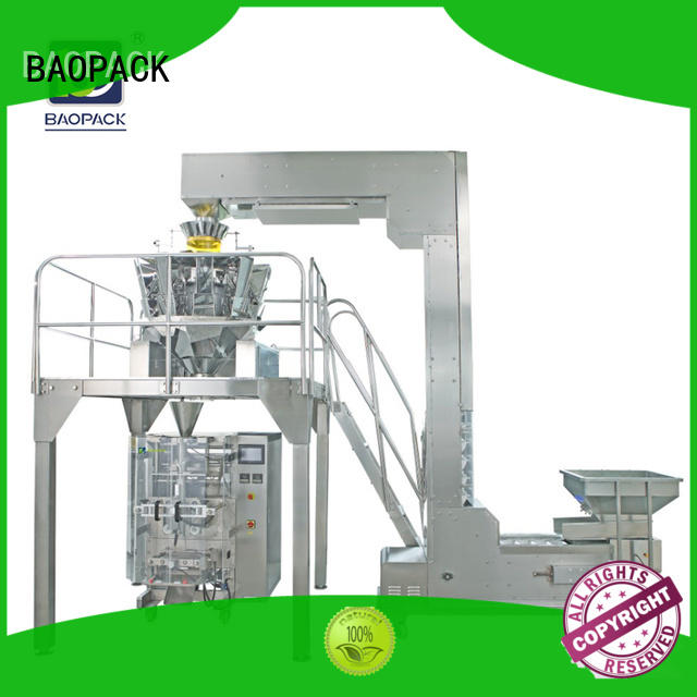 BAOPACK automatic vertical form fill seal machine personalized for sugar