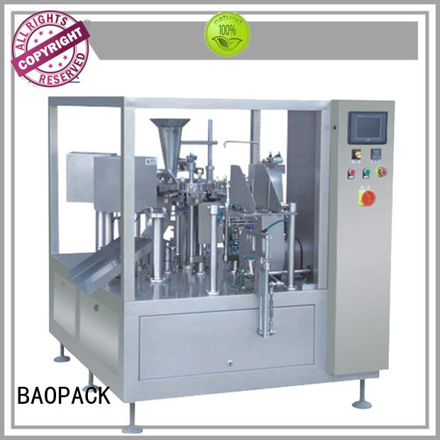 BAOPACK highspeed auto packaging machine supplier for plant