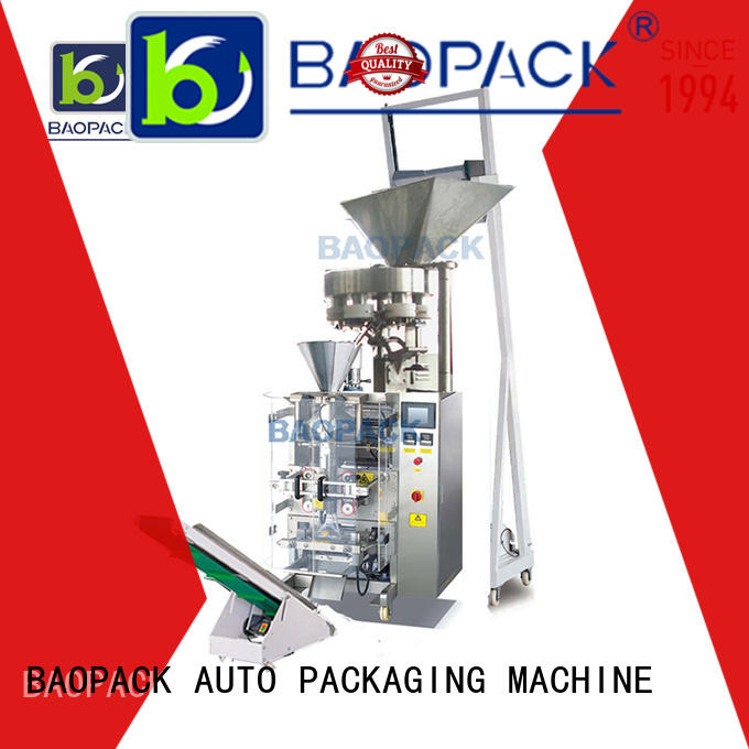 BAOPACK small volumetric cup filler machine factory for commercial
