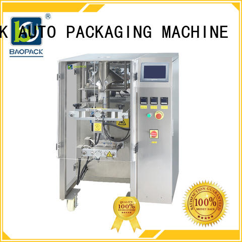 banana crisps pouch packing machine price BAOPACK manufacture