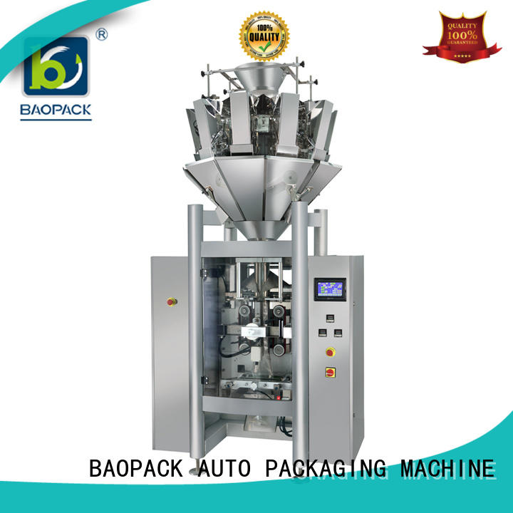 BAOPACK tea vertical form fill seal machine supplier for chips