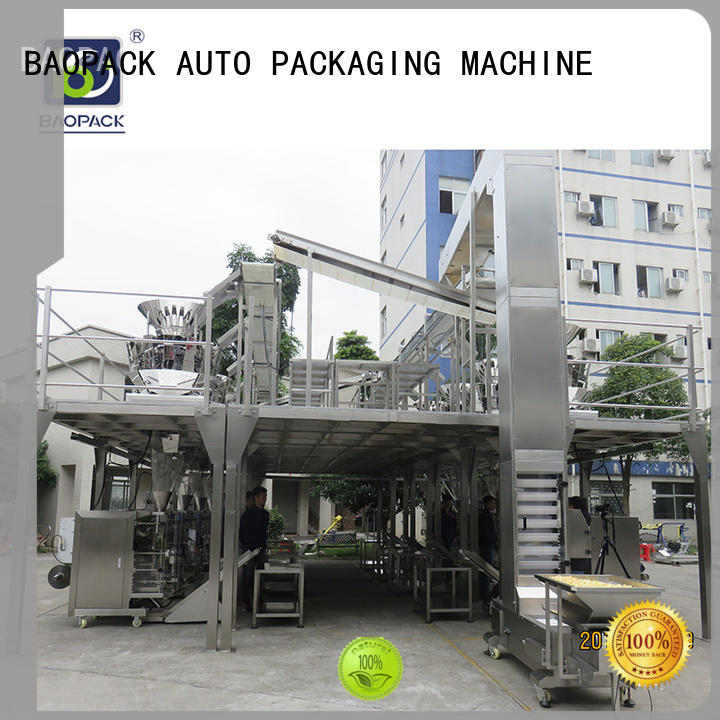 BAOPACK automatic vertical form fill seal machine factory price for chocolate