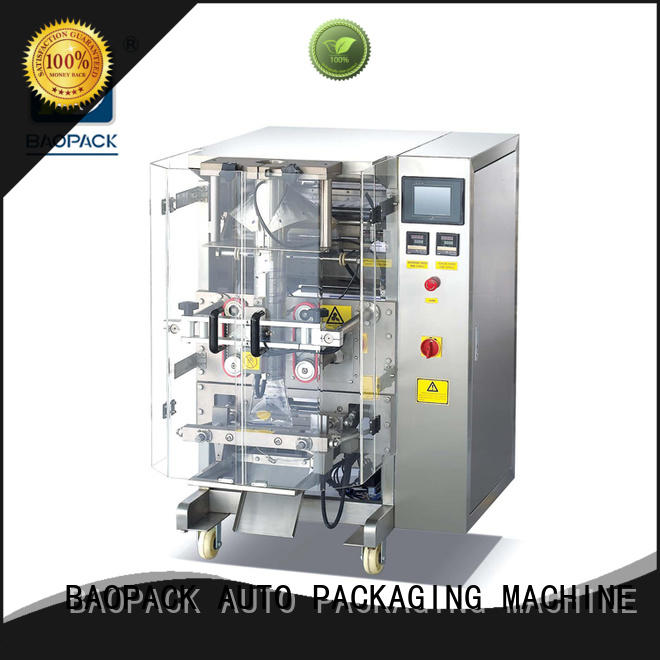 BAOPACK highspeed vertical form fill seal machine for sale personalized for industry