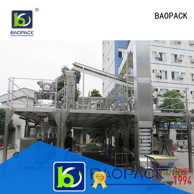 BAOPACK vertical vffs packing machine personalized for chocolate