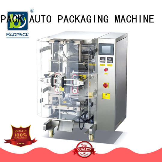 high-quality automatic pouch packing machine bags factory price for industry