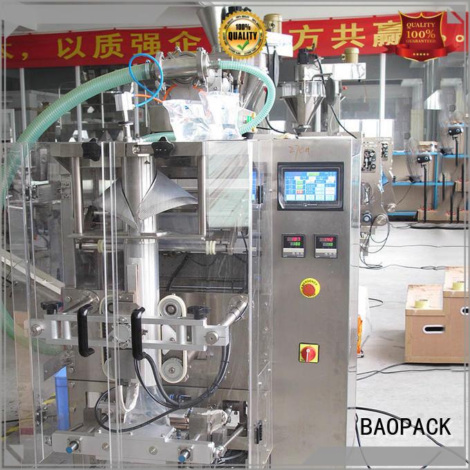 liquid packaging full spring bags Warranty BAOPACK
