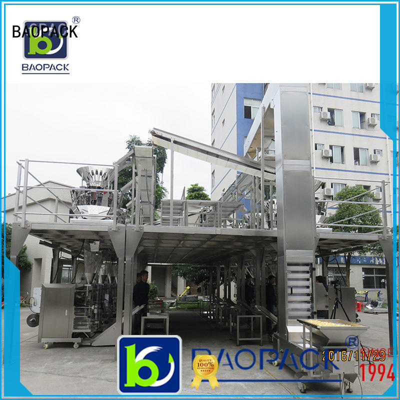BAOPACK degas vffs packaging machine factory price for plant