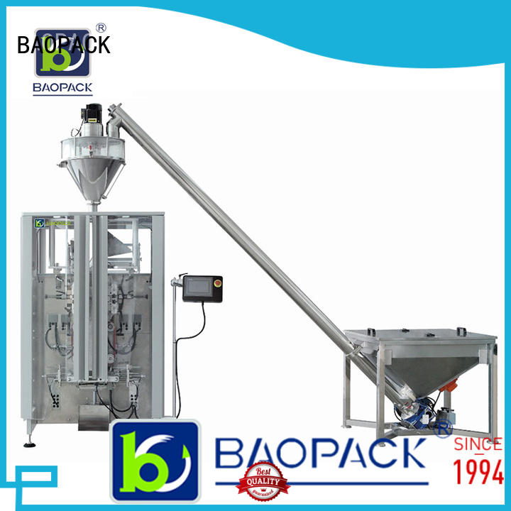 BAOPACK quadro form fill seal machine manufacturers from China for commercial