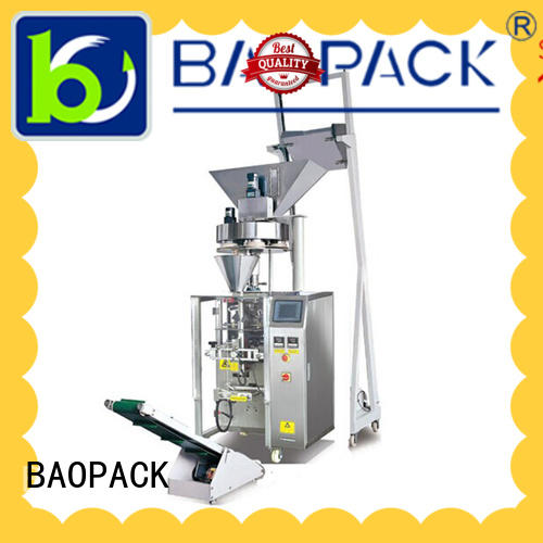 BAOPACK volumetric volumetric filling machine with good price for commercial