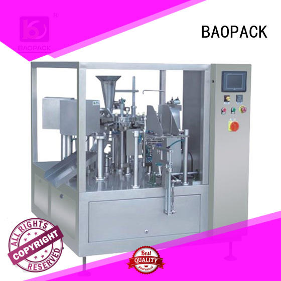 BAOPACK Brand vertical banana bags sachet packing machine