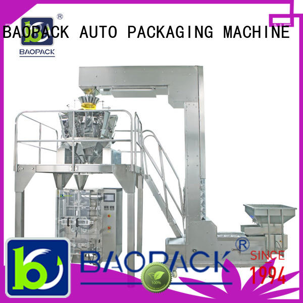 BAOPACK multihead weigher packing machine personalized for commercial