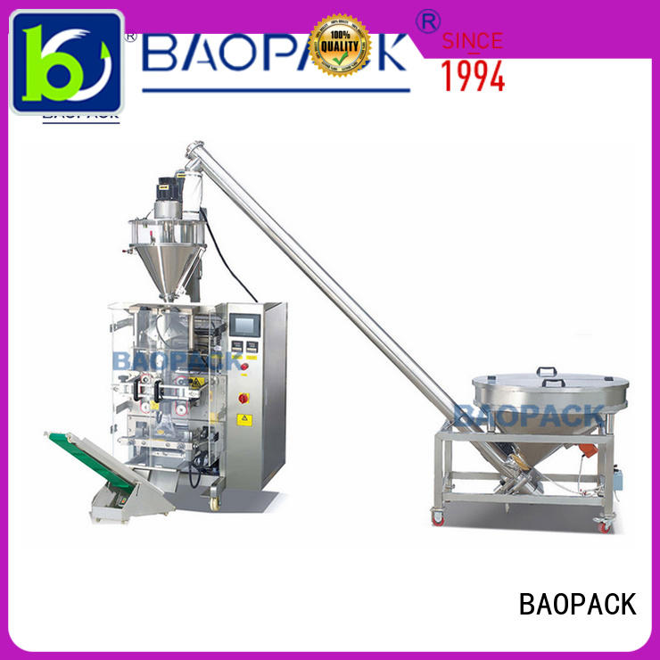 BAOPACK quadro vertical form fill and seal from China for plant