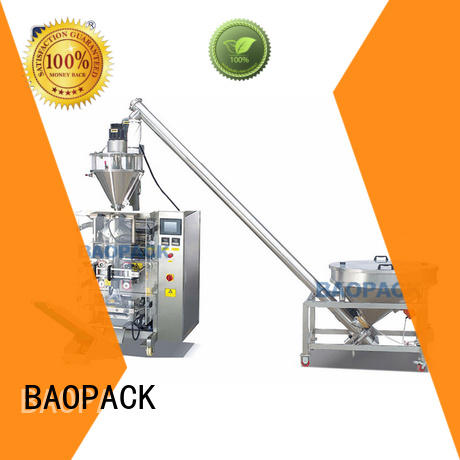 BAOPACK volumetric automatic form fill seal machines customized for plant