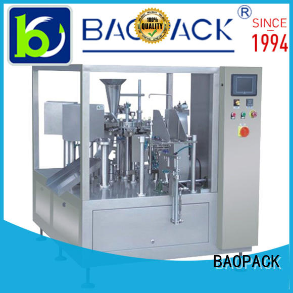 BAOPACK dry sugar sachet packing machine price supplier for commercial