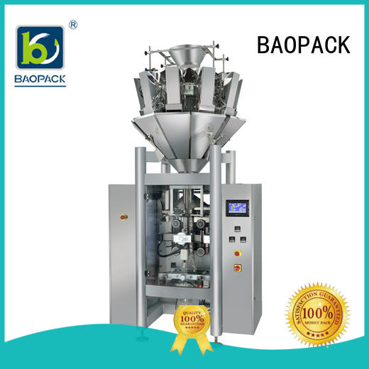 degas vffs packing machine popcorn factory price for plant